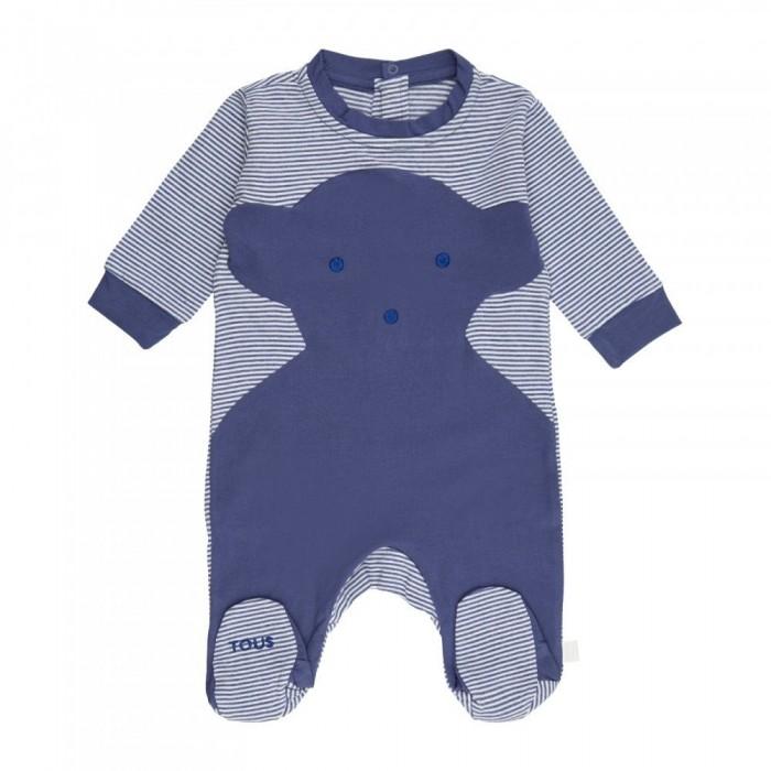 Pelele Risc Baby Tous Azul  Ropa Bebé - La Cesta Mágica