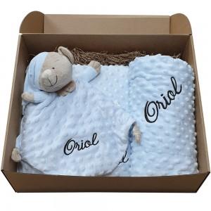 Caja Regalo Bebé Personalizada Niño  Canastillas para bebes - La Cesta Mágica