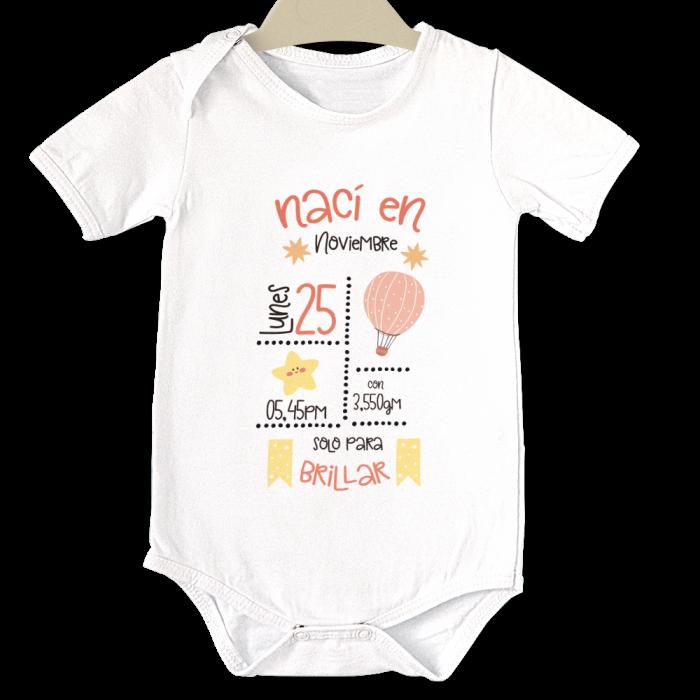 Body original para Bebé,Nacimiento  bodys - La Cesta Mágica