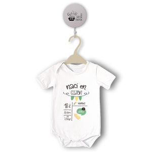 Body original para Bebé,Nacimiento I  bodys - La Cesta Mágica