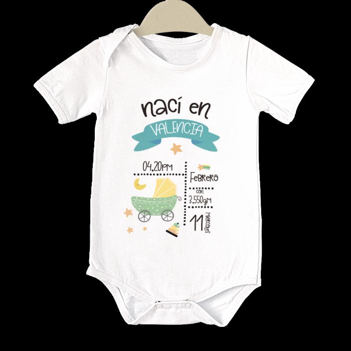 Body original para Bebé,Nacimiento II  bodys - La Cesta Mágica