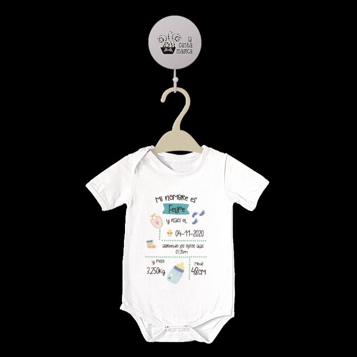 Body original para Bebé,Nacimiento III  bodys - La Cesta Mágica