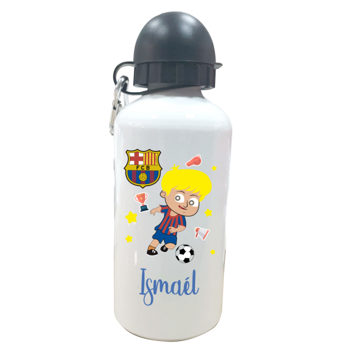 Botella Personalizada FC Barcelona  Botellas aluminio - La Cesta Mágica