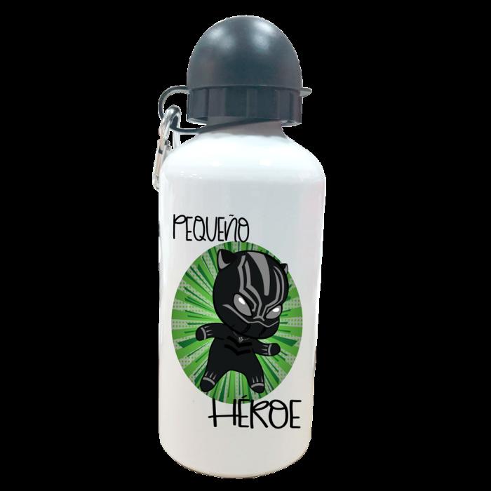 Botella Personalizada Pantera Negra  Botellas aluminio - La Cesta Mágica