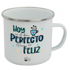 Taza Vintage Hoy es el Día Perfecto  Tazas Vintage - La Cesta Mágica