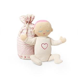 Muñeco Lulla Doll Coral  Peluches y Mas - La Cesta Mágica