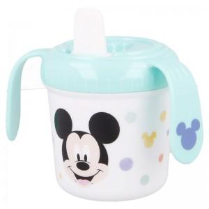 Taza Aprendizaje Mickey Cool  Alimentacion y Lactancia - La Cesta Mágica