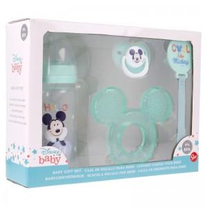 Set Premium 4 piezas Mickey Cool  Alimentacion y Lactancia - La Cesta Mágica