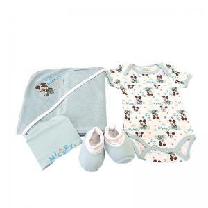 Canastilla para bebé Deluxe Mickey  Canastillas para bebes - La Cesta Mágica