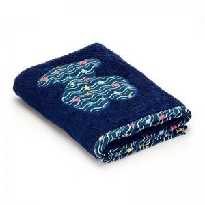 Toalla de Playa Baby Tous Azul  Para el Baño - La Cesta Mágica