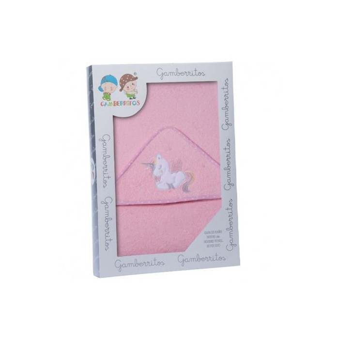 Capa Baño - Unicornio Rosa  Para el Baño - La Cesta Mágica